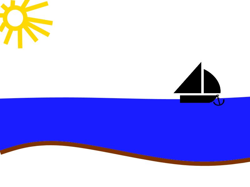 Die Ankerkette ist komplett aufgeholt. Das Boot ist bereit zur Weiterfahrt.