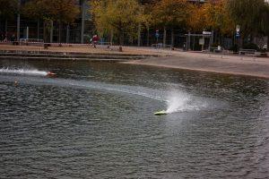 Motorboot Freigelände Modell Hobby Spiel Leipzig